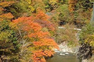 浪江町:高瀬川渓谷