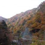 浪江町・高瀬川渓谷の紅葉