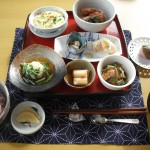 菜の花膳(デザート付き)1050円