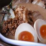 信州味噌炙りチャーシュー麺+煮卵