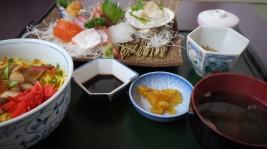 手づくりの湯 栄荘の松川浦定食