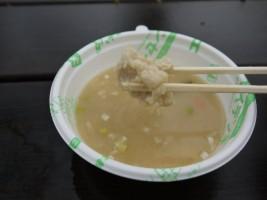 相馬復興の新メニュー「なんこつつくねの とろ~り米鍋」