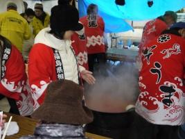 相馬漁師鍋販売ブース