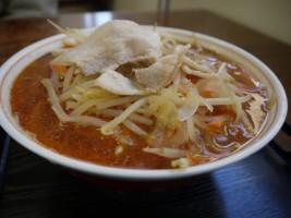 ピリ辛がおいしい、もやしラーメン(650円)