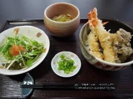 海老天丼セット(1,000円)