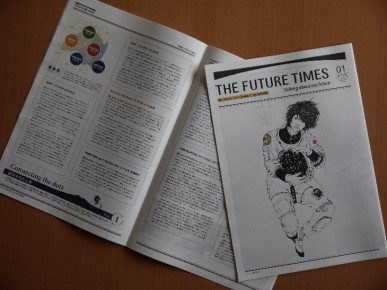 THE FUTURE TIMES01創刊号
