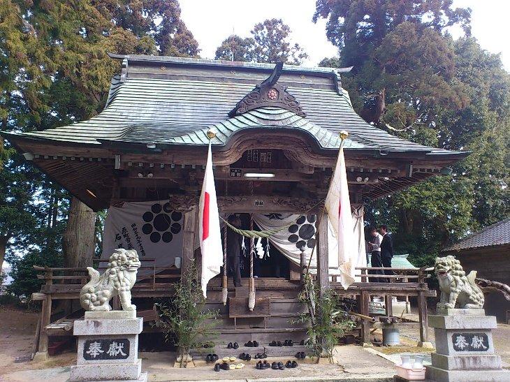 延喜式名神帳名神大社・多珂神社