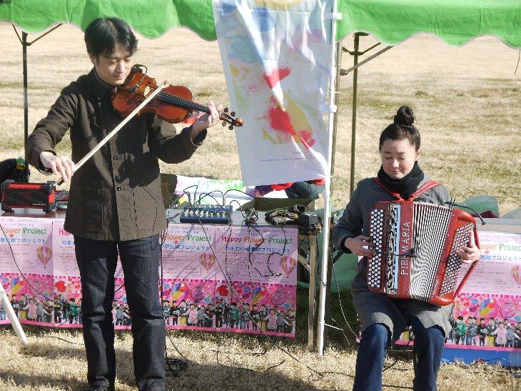 バイオリンとアコーディオンのデュオ「SIESTA」(シエスタ)