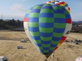 気球に乗ってどこまで行こう
