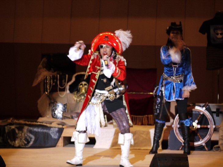 歌う海賊団ッ!船長「キャプテン☆うっちゃる」