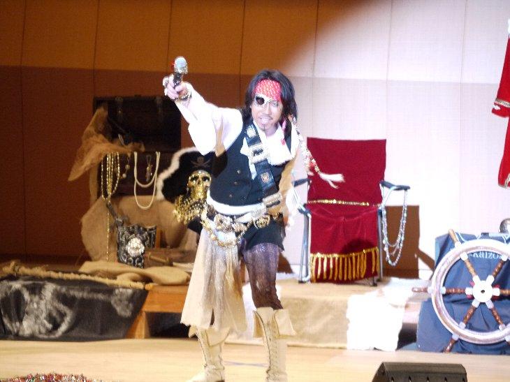 歌う海賊団ッ!キャプテン☆うっちゃるから、こどもたちへ