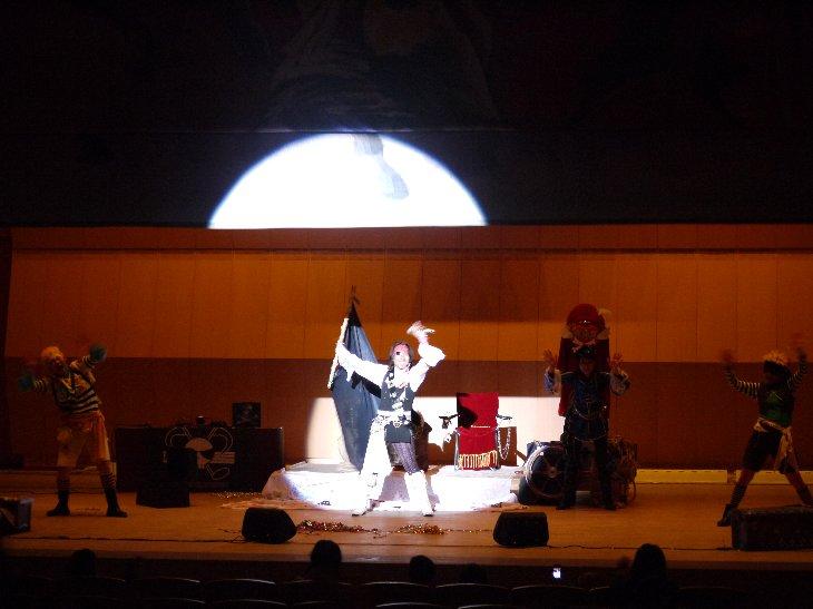 歌う海賊団ッ!の皆さん、楽しいステージをありがとう!