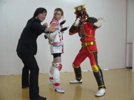 ヨシユキ副園長も、ミネート、ディネードと一緒に