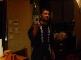 長井蔵での『磐城壽』、一本一本を大介さんから