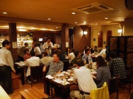 ダイニングバー ターキーでの『磐城壽』の蔵元と愉しむ酒の会