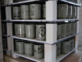 東北各県で被災された方々が制作した大堀相馬焼