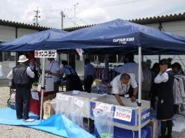 田村市船引町で店舗再開のサンプラザも出展