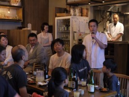 郷土料理の専門家、堀澤 宏之さんより、この日の料理のご説明