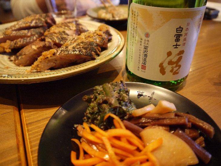 冨沢酒造店「白冨士 活」 相馬に伝わる郷土料理と