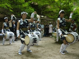 いわき市小川町から、こどもじゃんがら念仏踊り