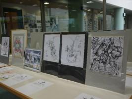 『南相馬市中央図書館』「マンガ家・アニメーター・イラストレーターによる『武者絵』展』」