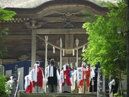 相馬中村神社社殿にて安全祈願祭