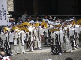 相馬民謡同好会による相馬流山踊り