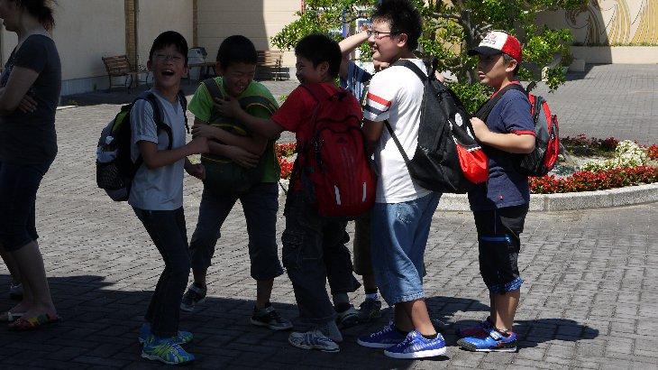 真野小学校の6年生10人全員でサマーキャンプ
