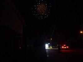 第29回 万葉園・たんぽぽ・なごみの家 納涼祭を締めくくる花火