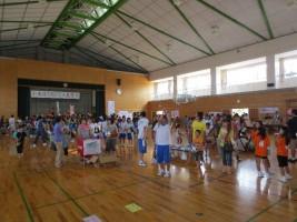 「小高区5校PTA夏祭り」フリースロー