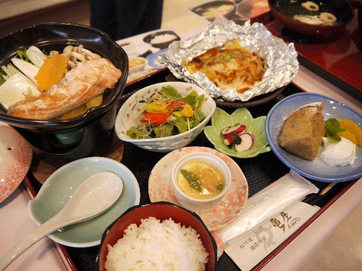 [亀屋旅館]秋の彩定食(1,200円)