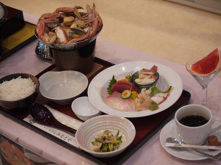 [ホテルみなとや]海鮮チゲ鍋定食(1,980円)