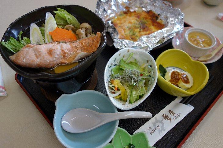 [亀屋旅館]秋の彩定食(1,200円)※要予約