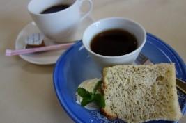 相馬松川浦の亀屋旅館、食後のデザート