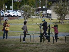 10/21(日)オープニングセレモニー。市民がつくる高見公園。