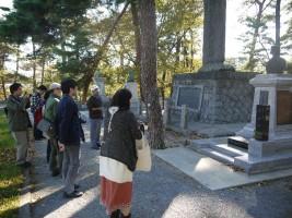 南相馬市原町区、夜の森公園の忠魂碑