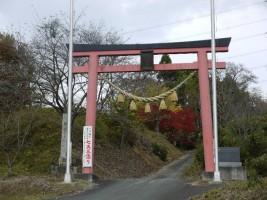 【新地町】子眉峰神社の紅葉