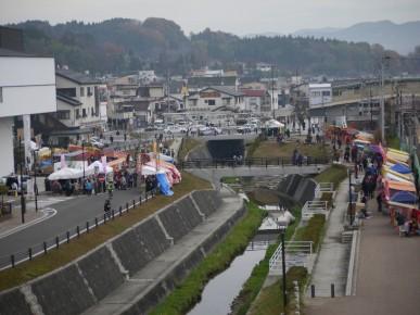 2012年11月23日(金)・24(土)に開催された「復興なみえ町十日市祭」
