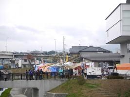 JR二本松駅周辺で開催された「復興なみえ町十日市祭」