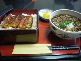 そばうな重(1,785円)