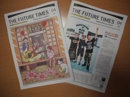 『THE FUTURE TIMES』第4号、12/12(水)全国一斉無料配布開始