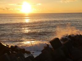 2013年、南相馬市鹿島区南海老の初日