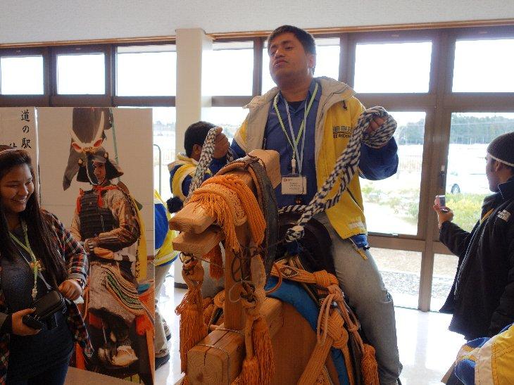 相馬野馬追騎馬武者記念写真撮影2