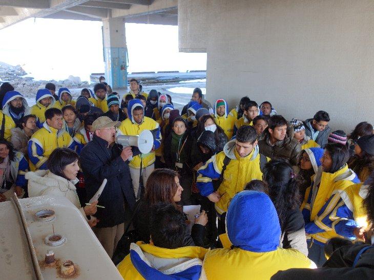 相馬双葉漁業協同組合による震災当時の実体験説明