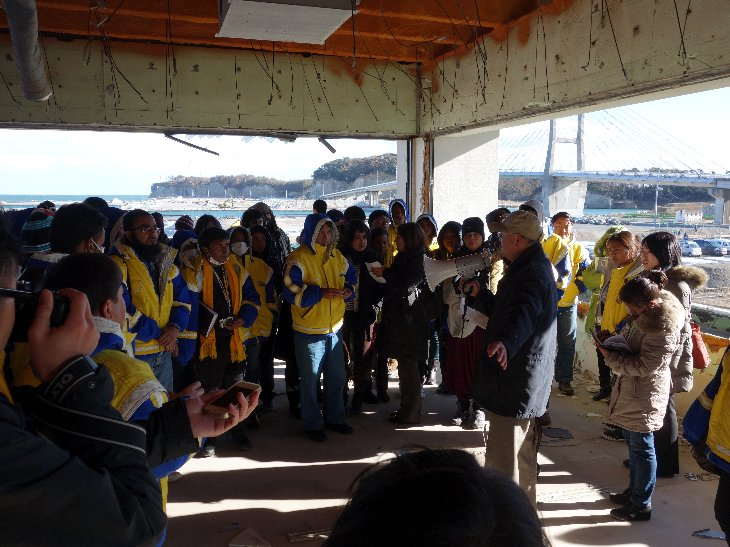 相馬双葉漁業協同組合による震災当時の実体験説明2