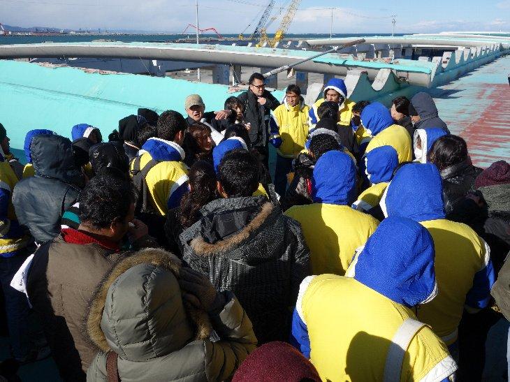 相馬双葉漁業協同組合による震災当時の実体験説明3