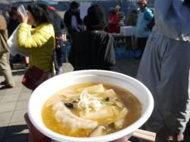 もち入り餃子汁雑煮「尚ちゃんラーメン」