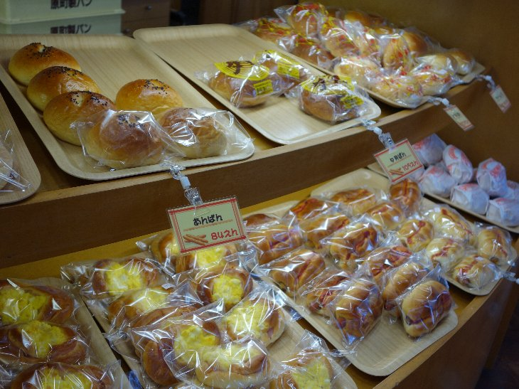 美味しそうなパンがたくさん