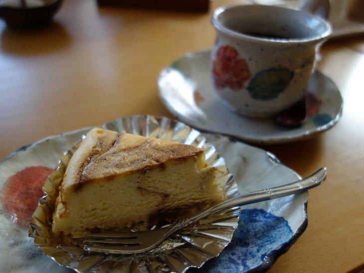 【マーブルチーズケーキ&コーヒー】