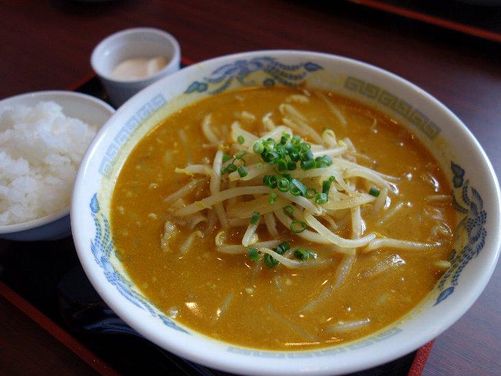 Aランチ 味噌カリーめん ¥750